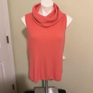 Fred David xl coral sweater